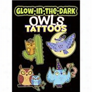 Glow-in-the-Dark Tattoos Owls
