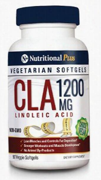 Nutritional Plus CLA 1200MG - 90 Softgels