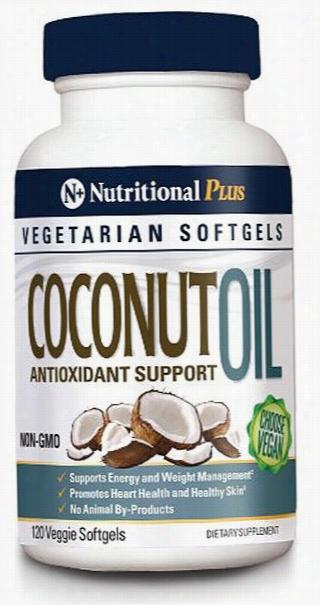 Nutritional Plus Coconut Oil - 120 Softgels