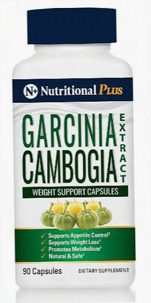 Nutritional Plus Garcinia Cambogia - 90 Capsules