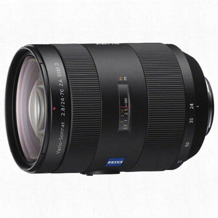 Sony SAL2470Z2 Vario-Sonnar T* 24-70mm F2.8 ZA SSM II Lenses