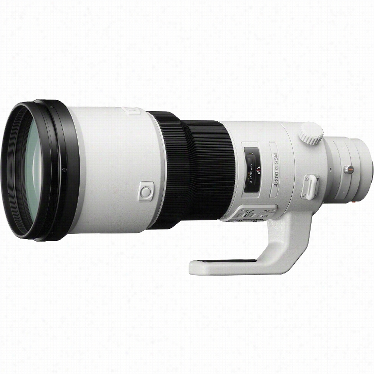 Sony SAL500F40G 500mm f/4 G Lenses