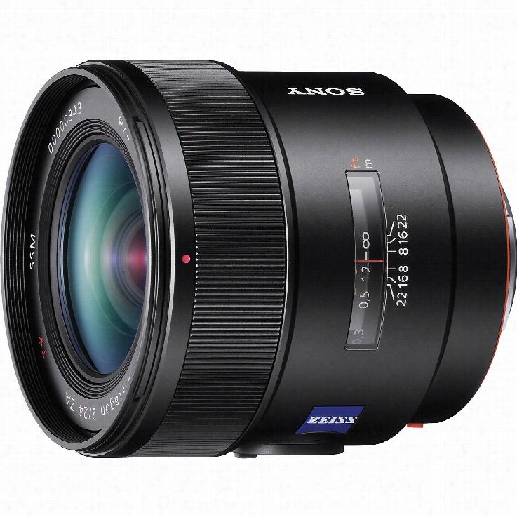 Sony SAL24F20Z DT 24mm f/2 ZA SSM Lenses