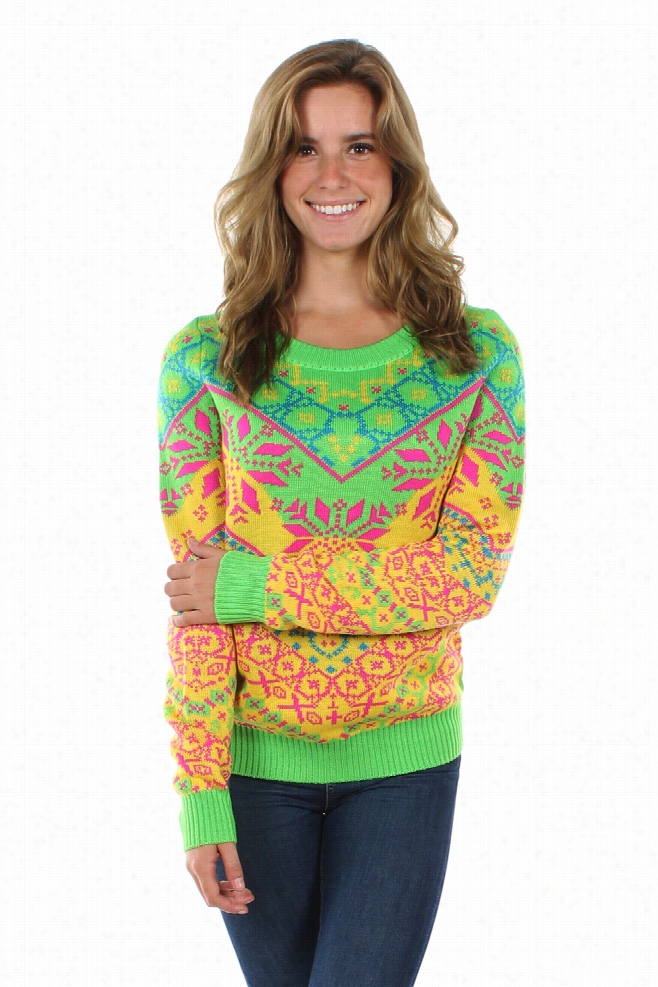 Women's Apres Afterglow Ski Sweater by Tipsy Elves