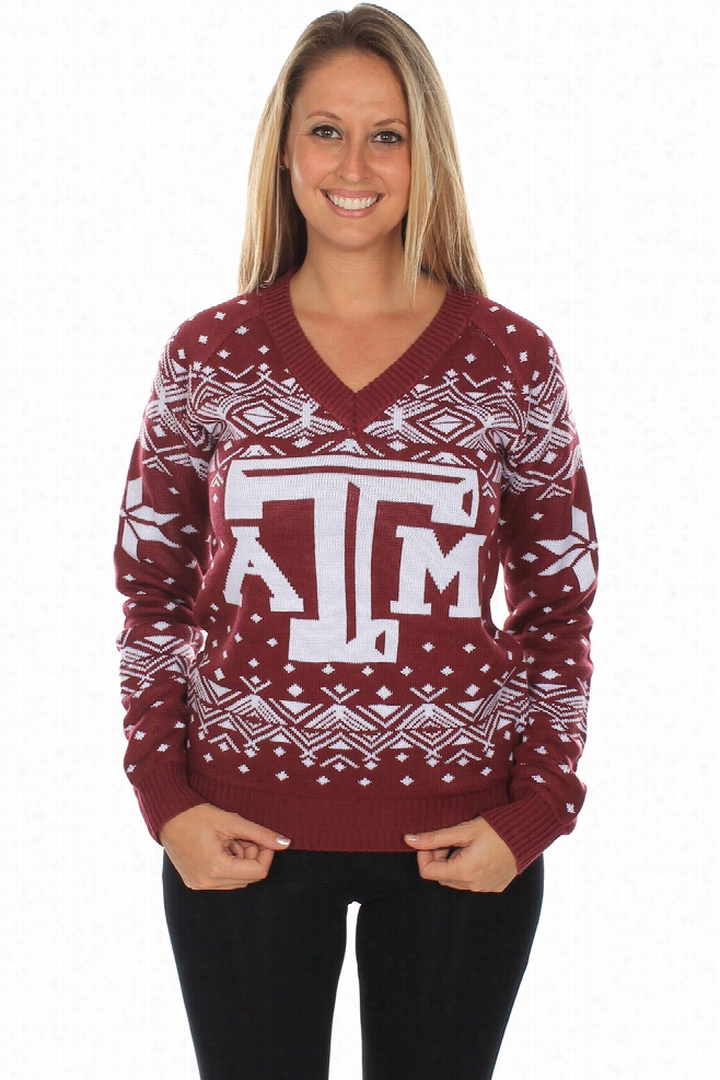 Women's Texas A&M Sweater by Tipsy Elves