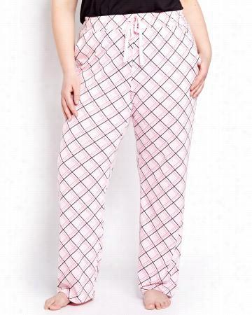 Bonne Nuit Printed Pyjama Pant.plaid.X