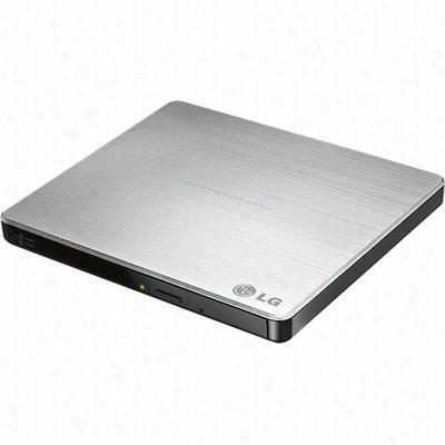 LG Electronics GP60NS50 8x Super-Multi USB 2.0 External DVD+/-RW Drive - Silver
