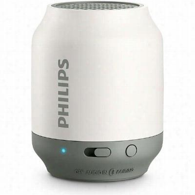 Philips BT50W/37 Wireless Portable Speaker - White