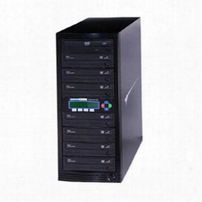 Kanguru Solutions U2-DVDDUPE-S7 DVD Duplicator 1 to 7 Target - Disk duplicator - DVD±RW (±R DL) x 7 DVD-ROM x 1 - max drives: 8 - 24x - USB 2.0 - external
