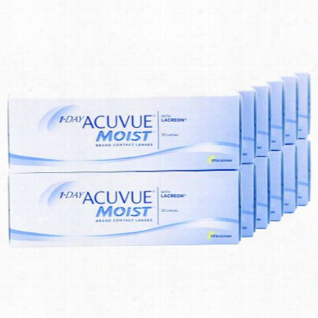 1-DAY ACUVUE MOIST Annual Supply Savings Pack Contacts