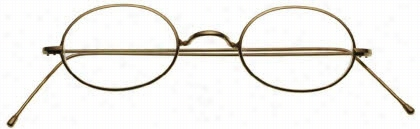 Savile Row Eyeglasses 18Kt Algha Oval - W-Bridge - Pear Tip Temples