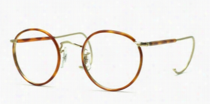 Savile Row Eyeglasses 18Kt Beaufort - Half Covered Cable Temples