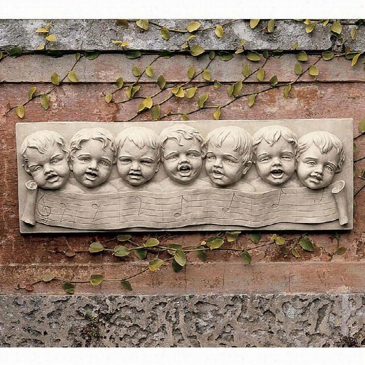 The Seven Musical Cherubs of Florence Wall Sculpture