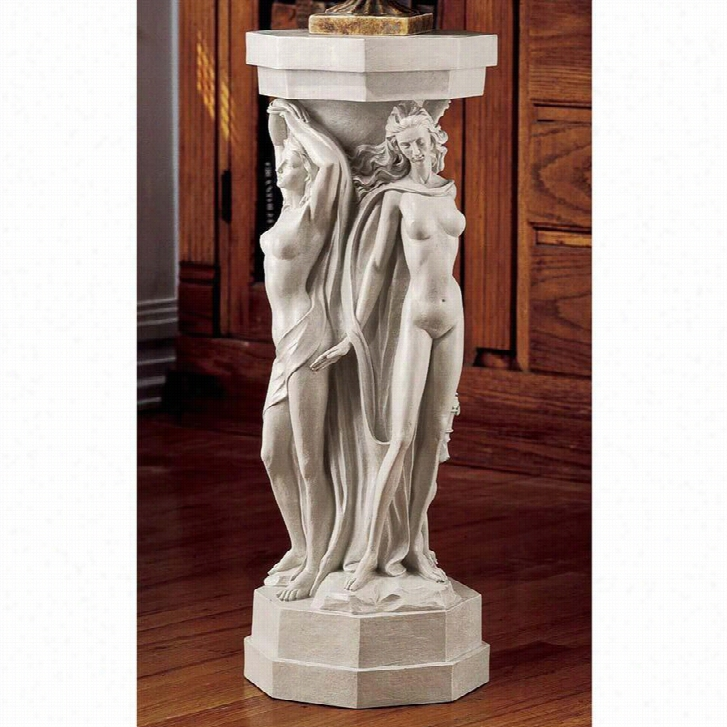 Column of the Maenads Sculptural Pedestal