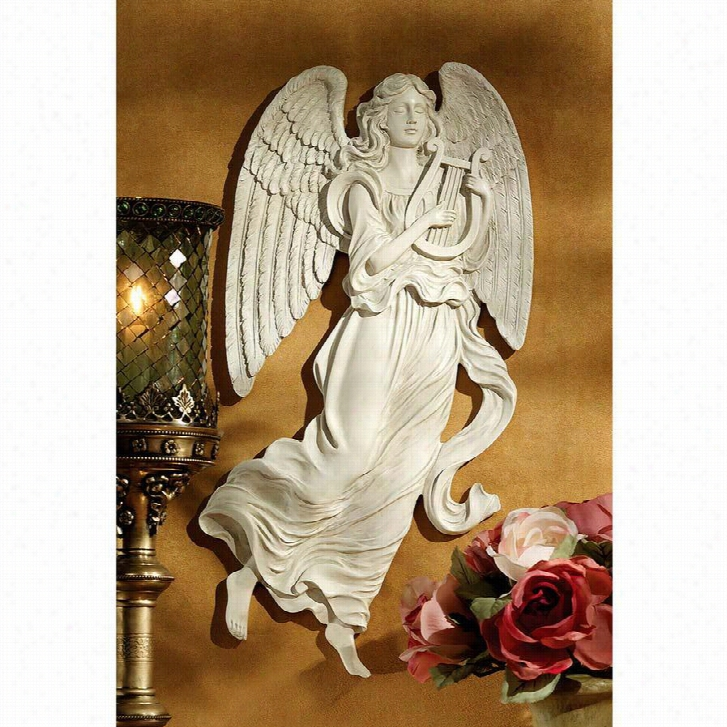 Heavenly Music Angel Wall Sculpture