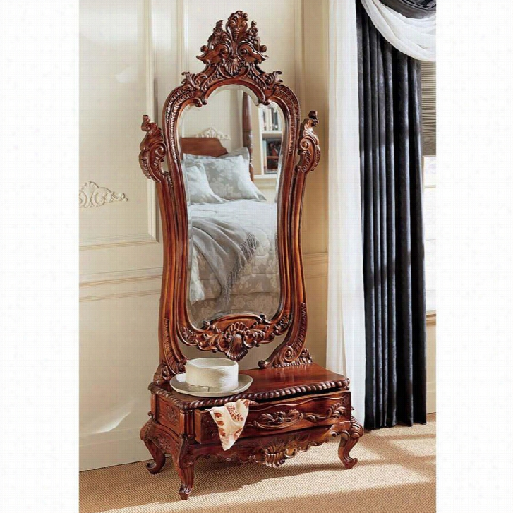 Thornwood Manor Victorian Dressing Mirror