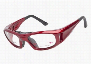 Leader Sport Safety Glasses C2 Red 49
