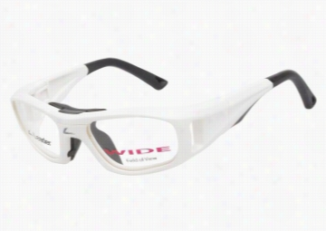 Leader Sport Safety Glasses C2 White 49