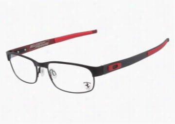 Oakley Carbon Plate OX5079 0455 Black Ferrari Red