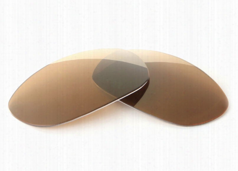 Quiksilver Eddie QS3059 Brown Lens with Bronze Mirror Replacement Lenses