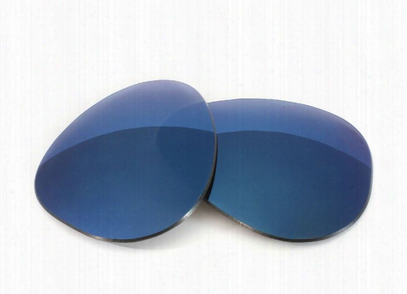 Ray-Ban RB8302 (58mm) Grey Lens w/ Midnight Blue Mirror Replacement Lenses