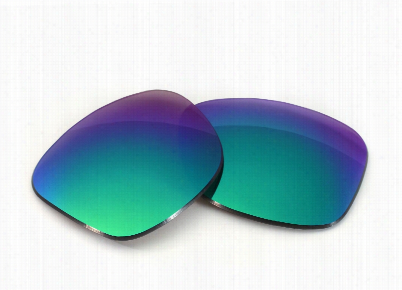 Tom Ford Gregoire TF190 (60mm) Grey Lens with Green Mirror Replacement Lenses