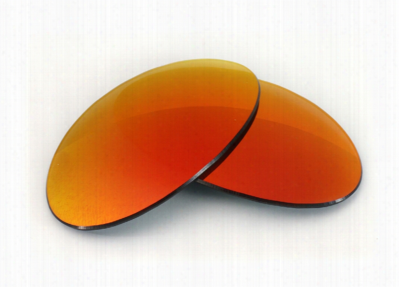 Oakley E Wire Collectors Grey Lens with Blaze Mirror Replacement Lenses