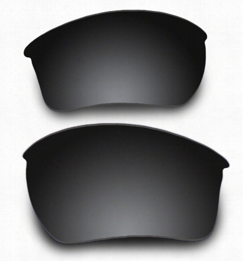 Oakley Flak Jacket XLJ Grey Lens w/ Carbon Mirror w/ AR Coating Replacement Lenses