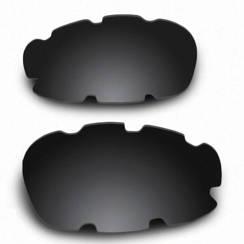 Oakley Split Jacket Vented Grey Lens w/ Carbon Mirror w/ AR Coating Replacement Lenses