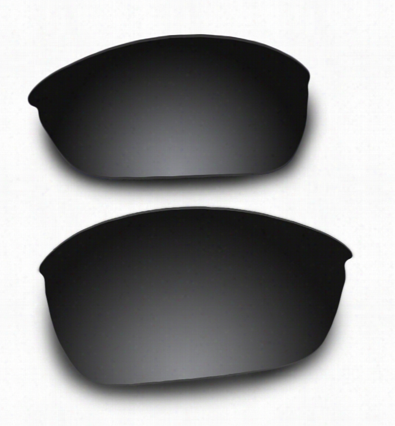 Oakley Wiretap (New) OO4071 Grey Lens w/ Carbon Mirror w/ AR Coating Replacement Lenses