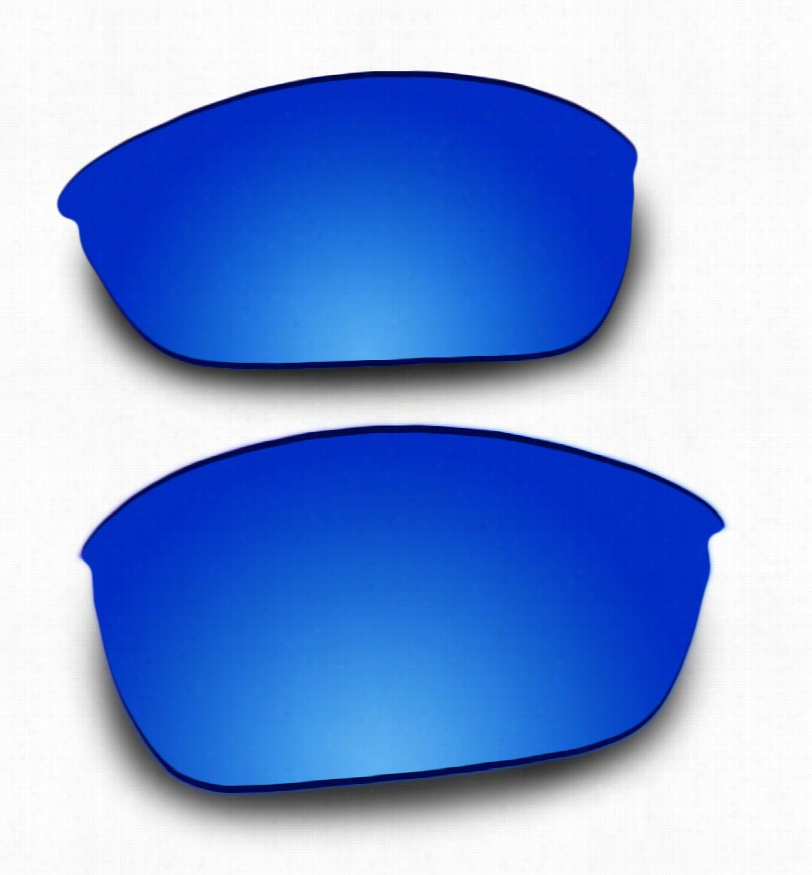 Costa Del Mar Hatch Grey Lens w/ Glacier Mirror w/ AR Coating Replacement Lenses