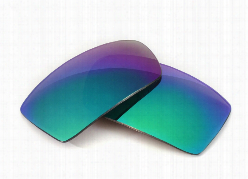Smith Optics Touchstone Grey Lens with Green Mirror Replacement Lenses