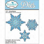 Elizabeth Craft Designs Metal Die Snowflakes