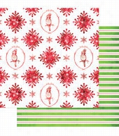Websters Pages All That Glitters Snowflakes Double-Sided Cardstock