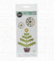 Sizzix® Thinlits Dies-Christmas Tree and Snowflakes