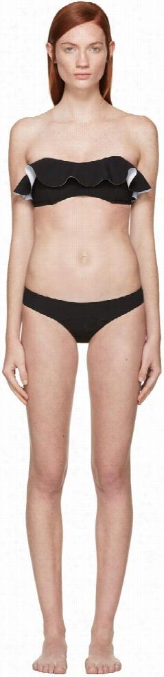 Lisa Marie Fernandez Black Bandeau Natalie Bikini