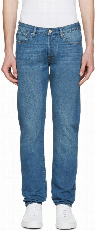 Paul Smith Jeans Blue Tapered Jeans