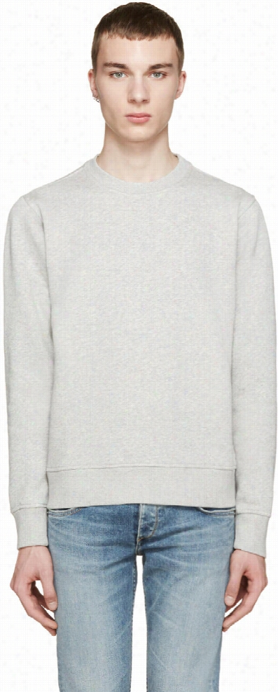 Paul Smith Jeans Grey Crewneck Sweatshirt