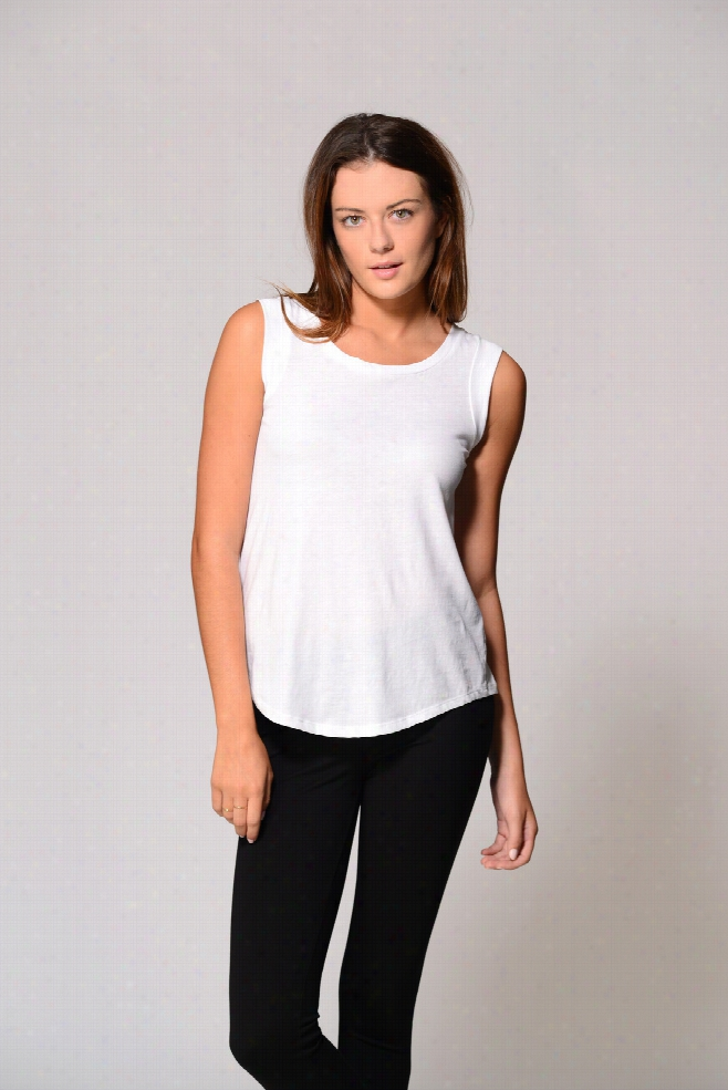 Alternative Apparel Cotton Capsleeve Top