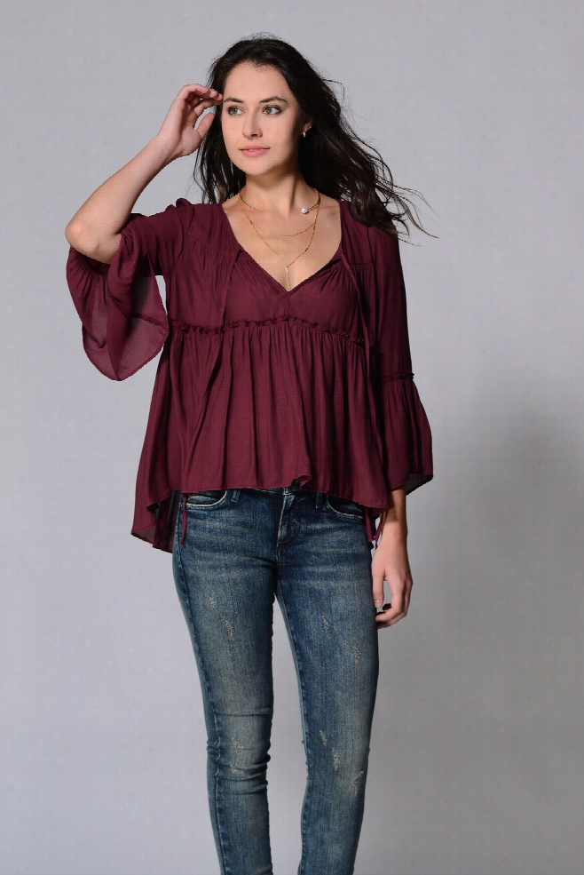 Free People A Few of My Favorite Things Blouse