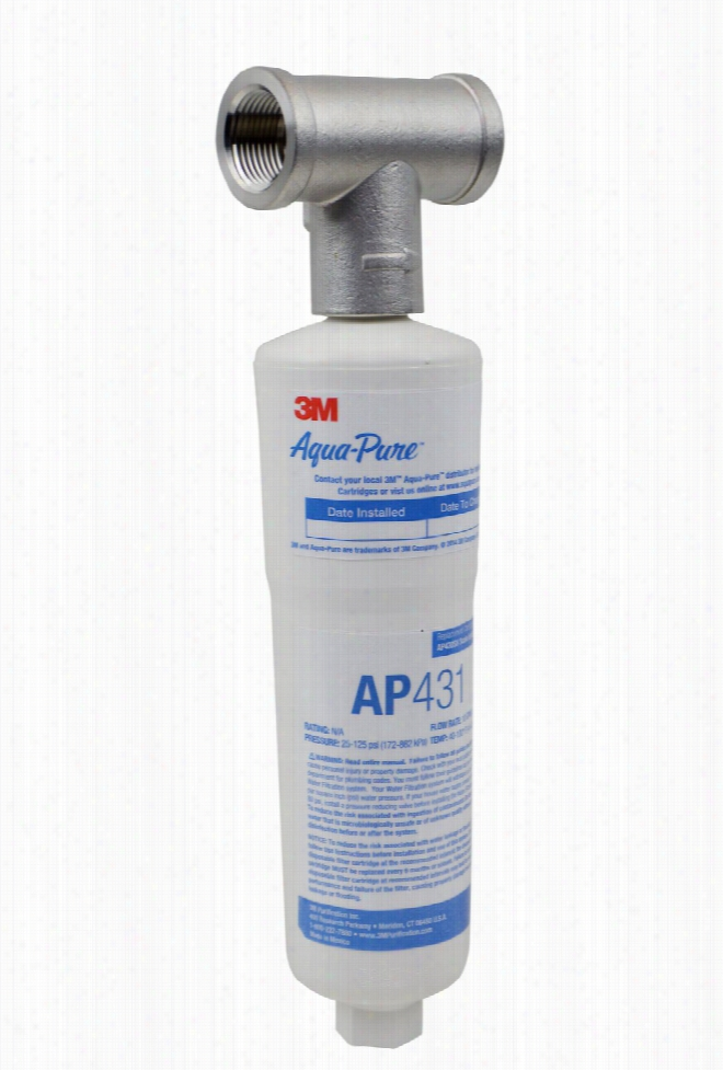 AP430SS 3M Aqua-Pure Water Heater Scale Inhibitor System