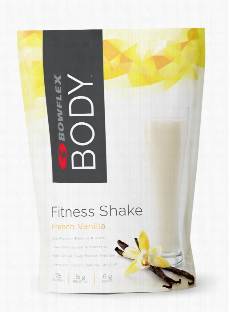 Bowflex Body French Vanilla Fitness Shake, 30-Serving Bag, Single Purchase