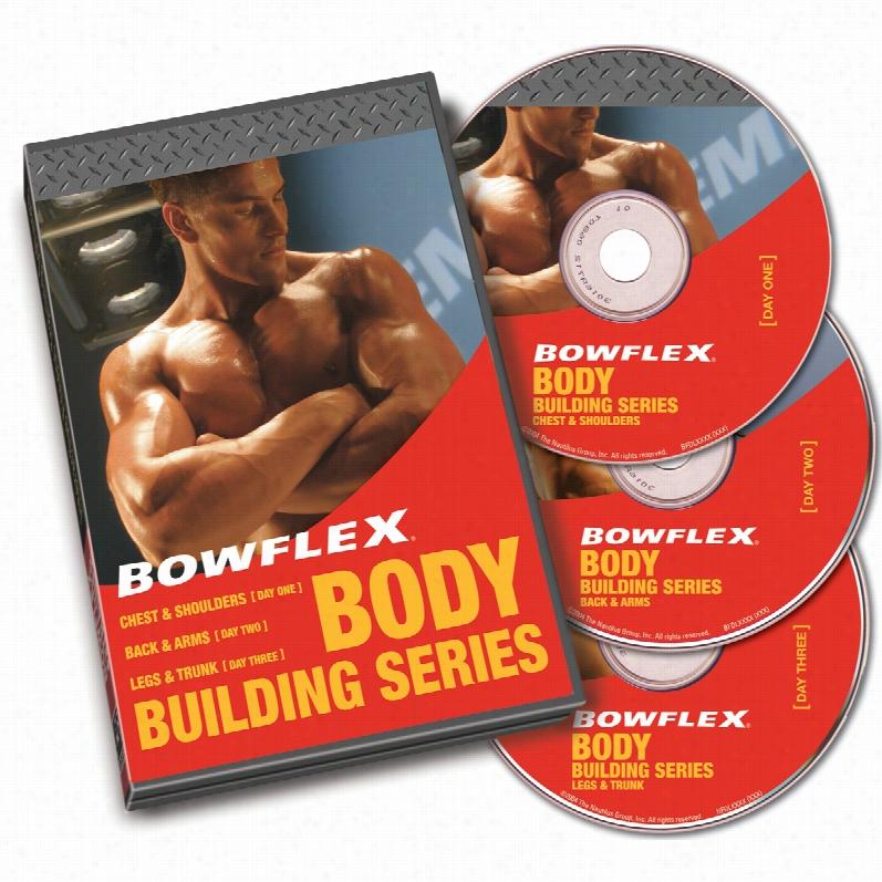 Bowflex Bodybuilding Workout Video Set, Format: DVD