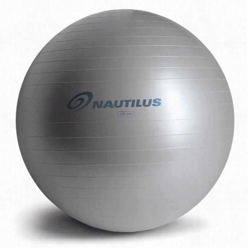 Nautilus Anti-Burst Balls, Size: 55cm Blue