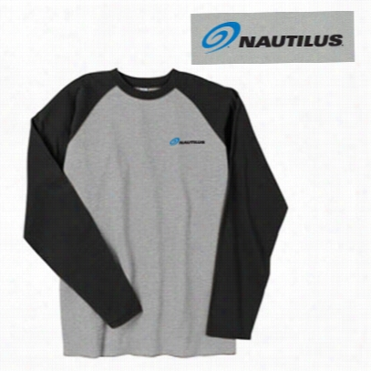 Nautilus Long Sleeve Jersey Shirt, Size S