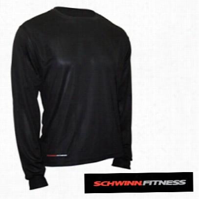 Schwinn Long Sleeve Micro Shirt, Size: M