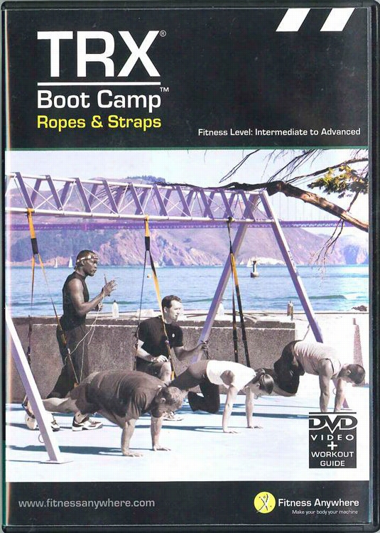 TRX Boot Camp Ropes and Straps