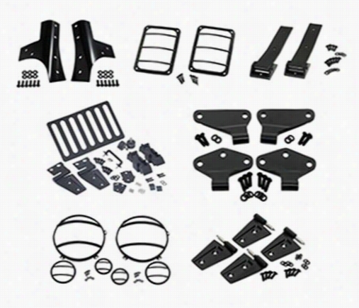 Kentrol Exterior Dress Up Kit 2DRBLKACC Exterior Dress Up Kits