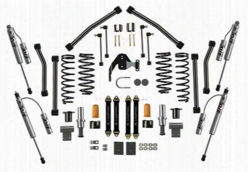 2007 JEEP WRANGLER (JK) Jeep 3 Inch Stage 3 Lift Kit with FOX Racing Shox