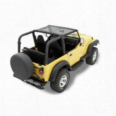 Bestop Header Style Bikini TJ Wrangler Jeep Top in Mesh 52525-11